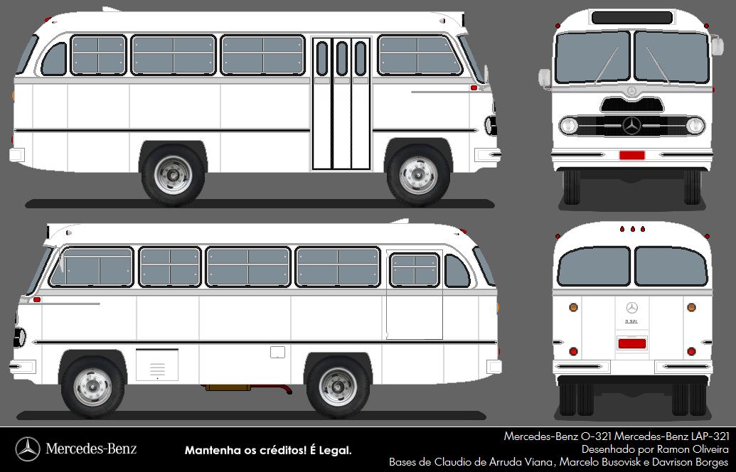 central bus mercedes benz o 321 mb lap 321. Black Bedroom Furniture Sets. Home Design Ideas