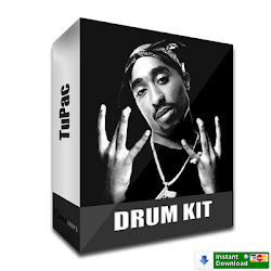TuPac Complete Drum Kit 5.- USD