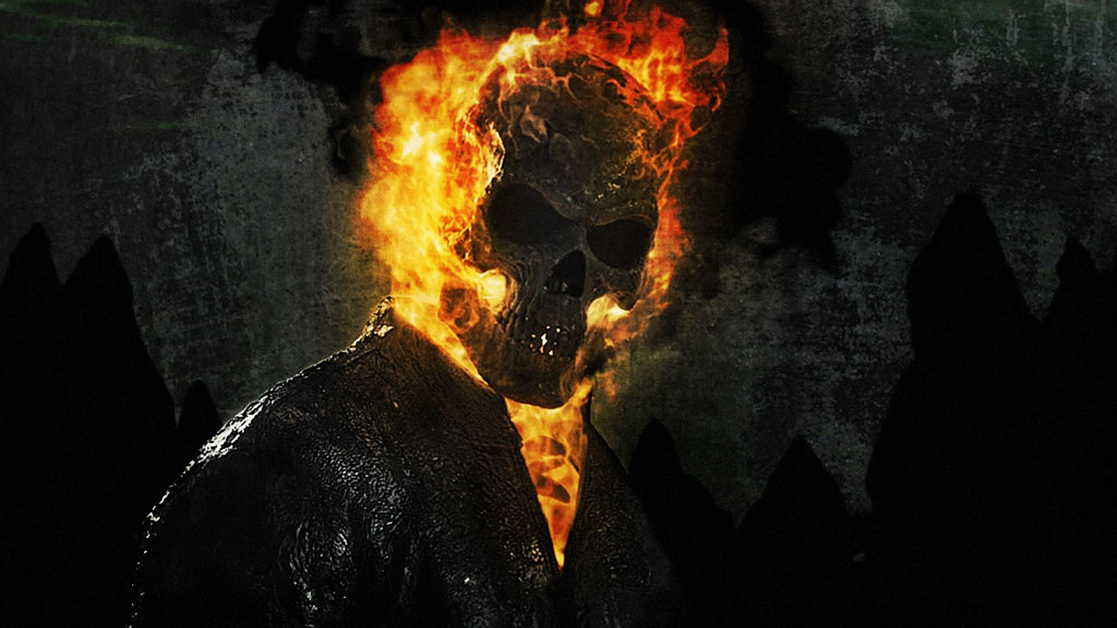 ghost rider wallpaper in 3d free download wallpaper