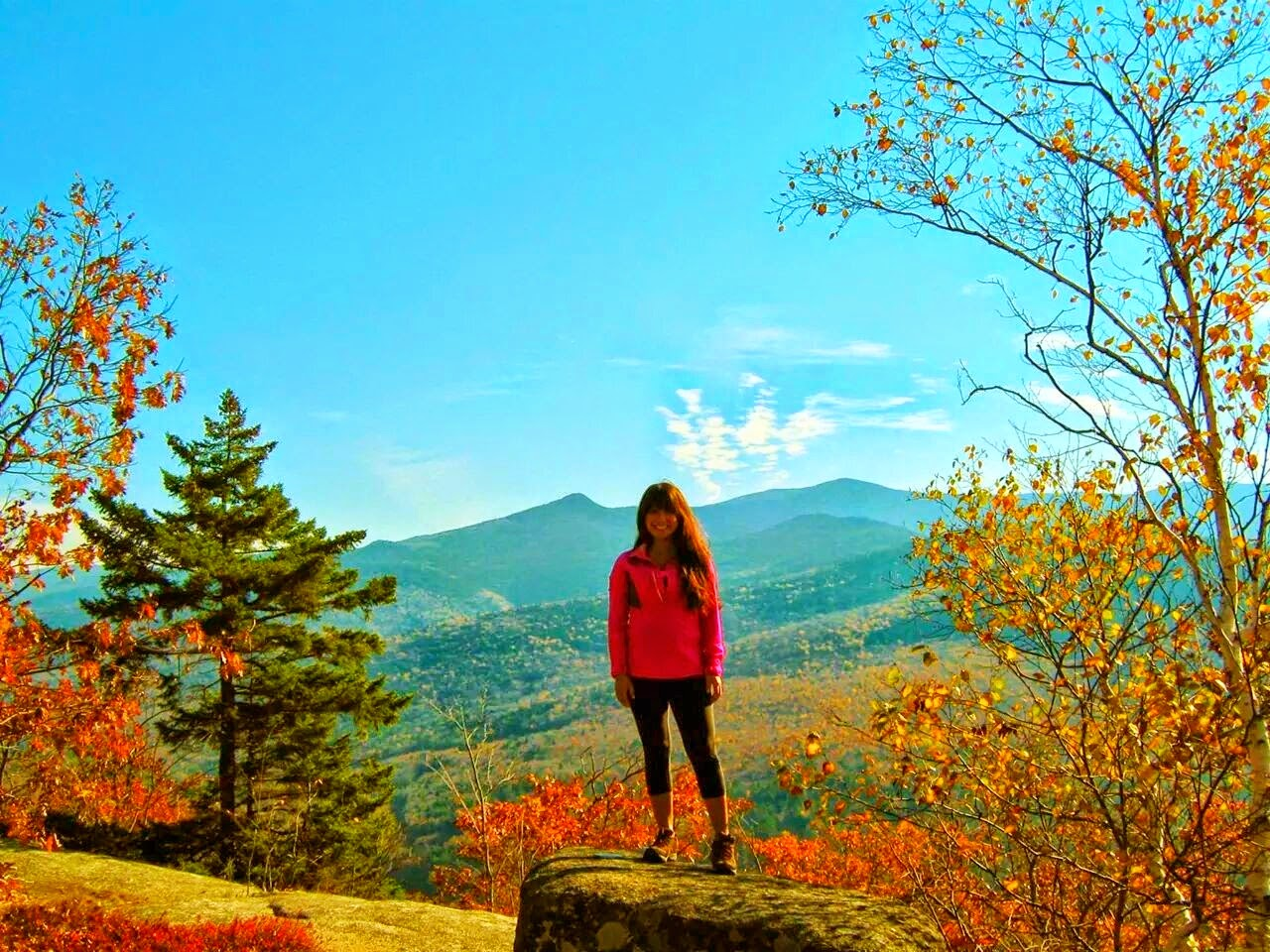 Welch & Dickey Loop Trail - White Mountains, NH