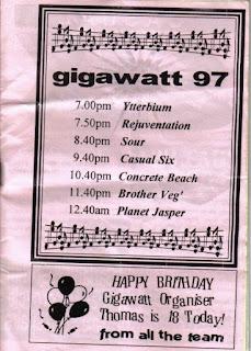 Favourite Band, Hate Gauge, Concrete Beach, One Room Down, the Jiffys, pledgemusic