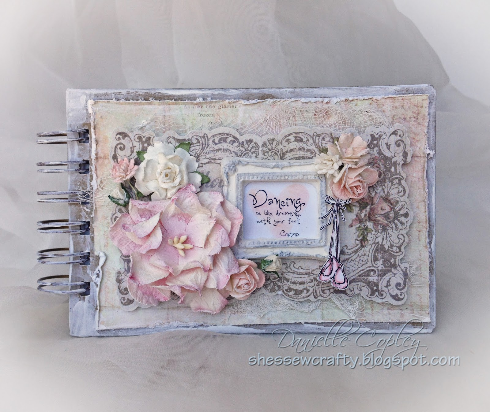 Tiny Dancer Elements image mini album using Prima Nature Garden and Prima Princess Collection