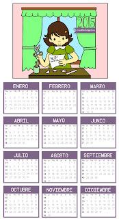 Calendario 2015 para descargar gratis