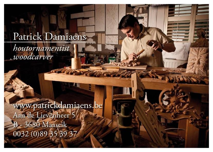 ORNAMENTAL WOODCARVER Patrick Damiaens A Visit To Lcole