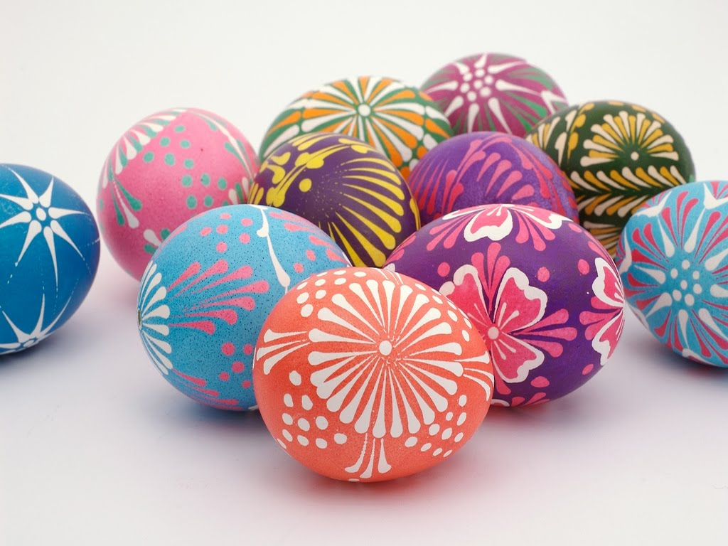 Easter Eggs Decorations | Colorful Easter Eggs Wallpapers ...