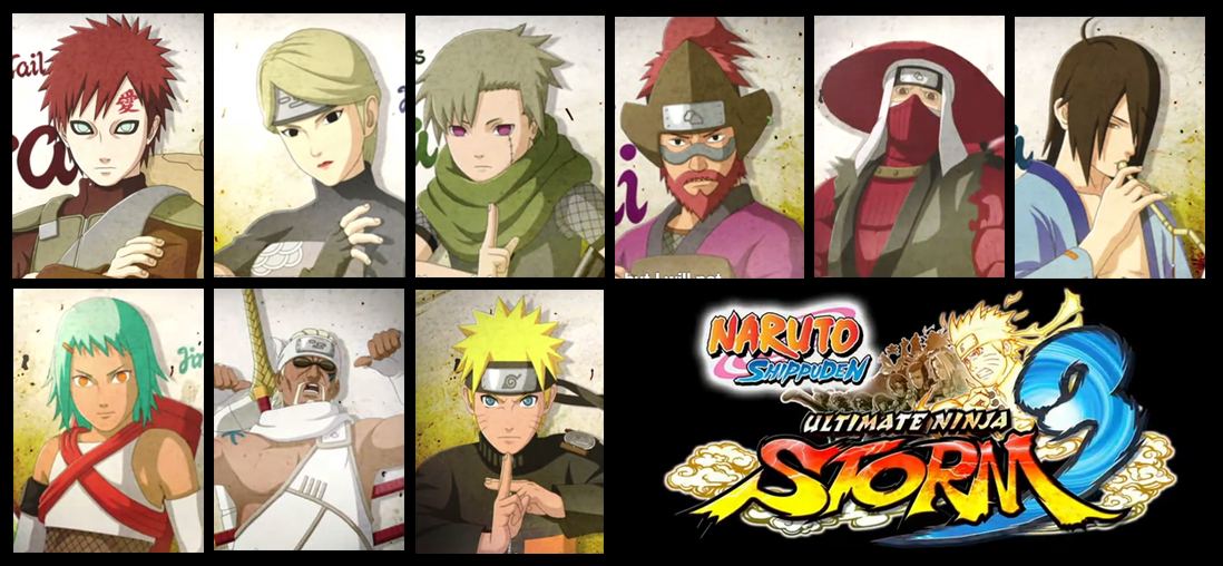 Naruto Shippuden Ultimate Ninja Storm 3 Nine Jinchuriki and Tailed Beasts Trailer Reveal Video Game Trailer Impressions Fighting Game Review cmaquest