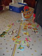 Imágenes de niños jugando con el juego ya editado. dsc