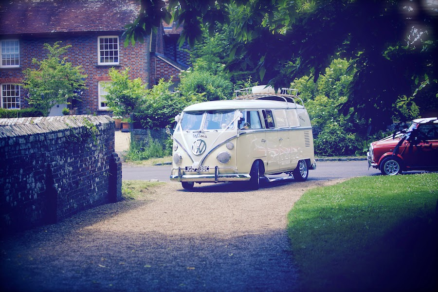 VW Camper van for wedding