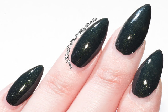 OPI Live and Let Die swatch nail polish Skyfall collection Holiday 2012
