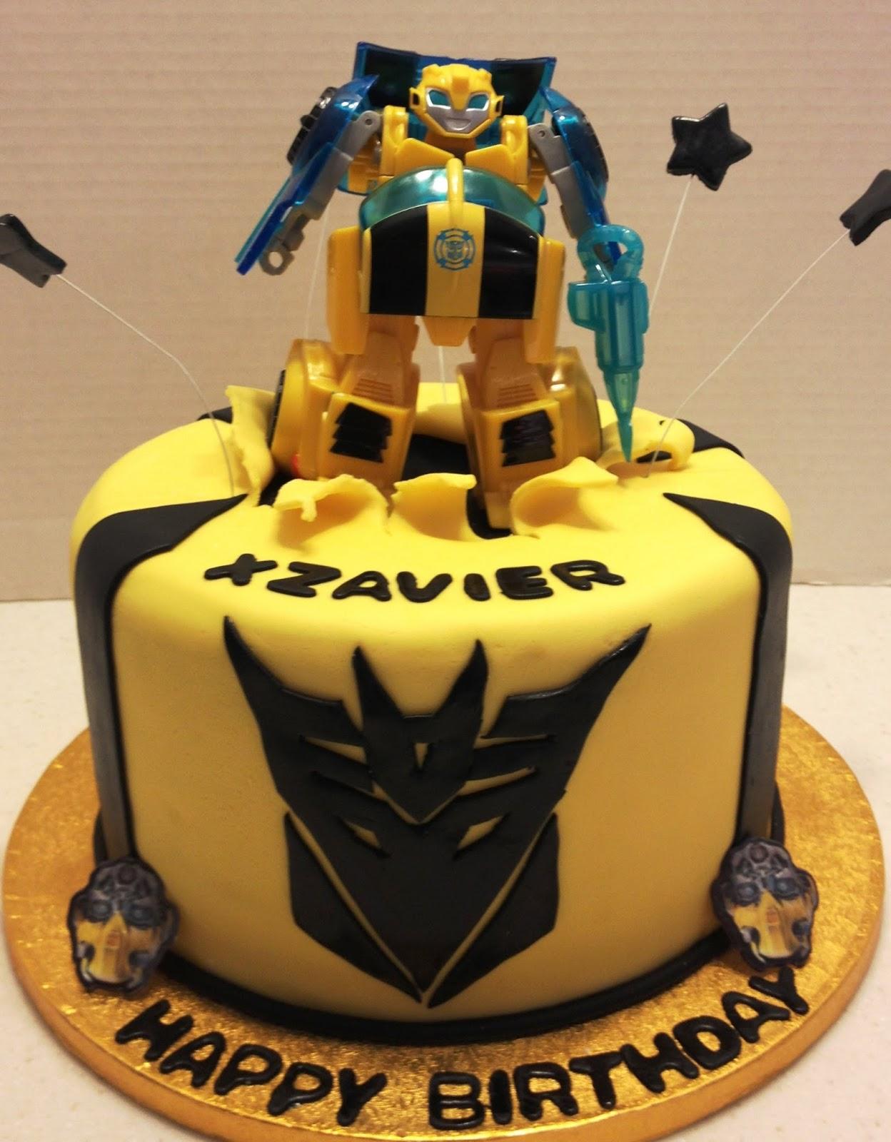 Marymel Cakes Transformers Birthday