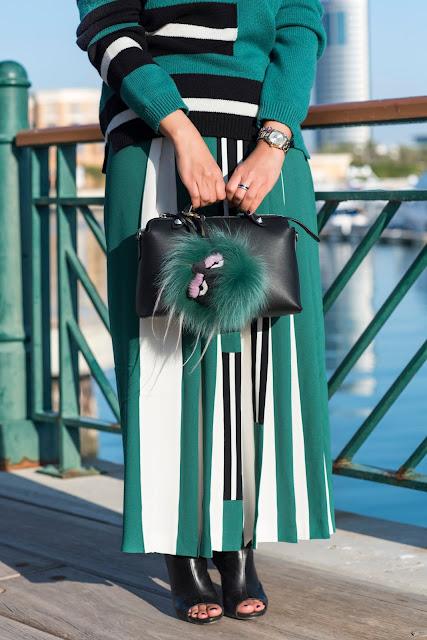 Fendi Sweater and Skirt