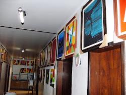 EXPOSIÇÃO DE ARTES PLÁSTICA DOS ALUNOS DA APAE DE NOVA AURORA NA INSTITUIÇÃO