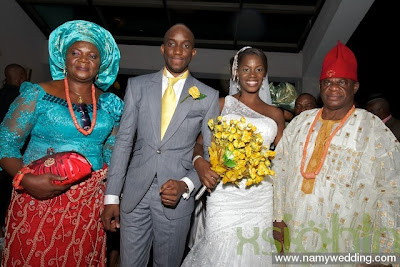 Pictures From Obiwon's Church Wedding & Reception. 8