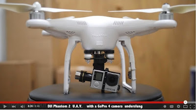DJI Phantom 2 with GoPro 4
