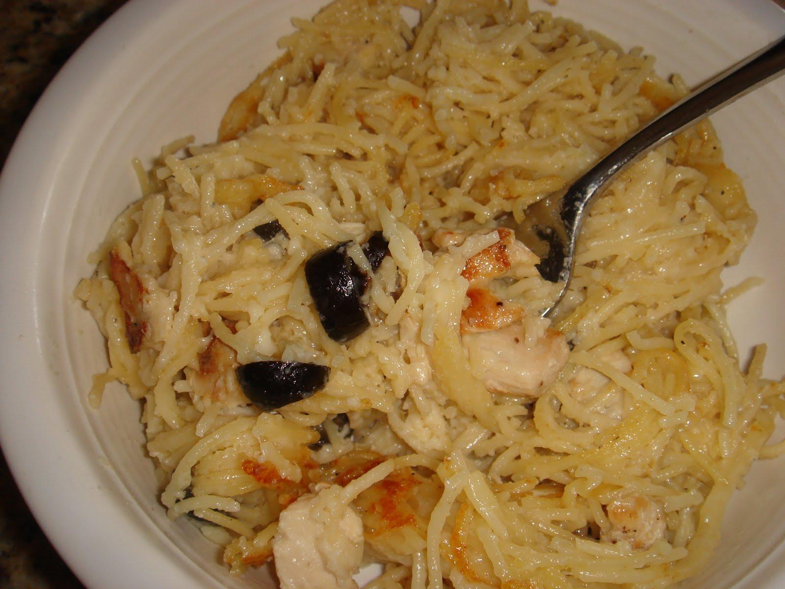 Creamy Chicken Spaghetti Casserole Recipe — Dishmaps