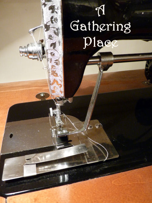 GATHERING FABRIC RUFFLES How To Make Them Perfect Simple Archie Johnson And Sons Sewing Machine