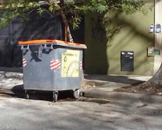 Contenedor de Residuos Ciudad de Buenos Aires