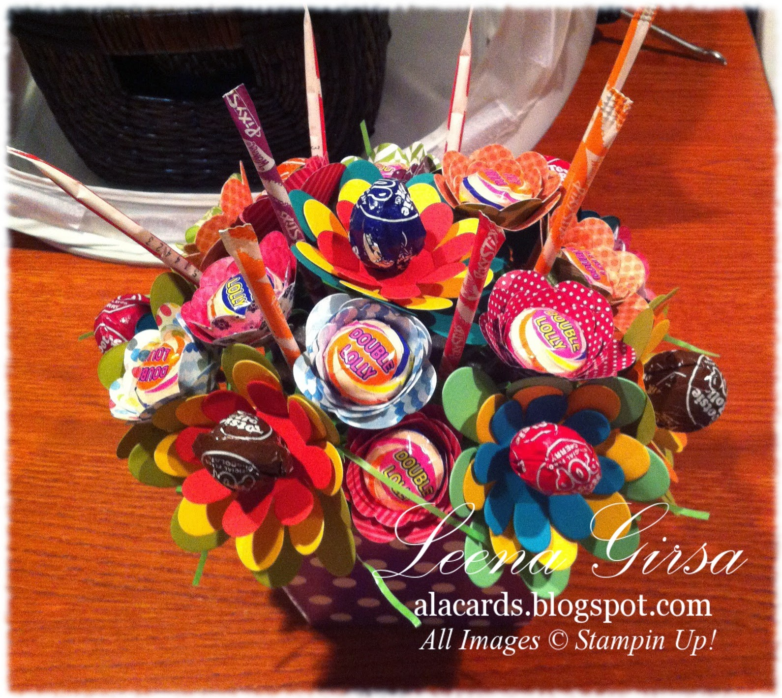 A La Cards: Candy Bouquet, Anyone?