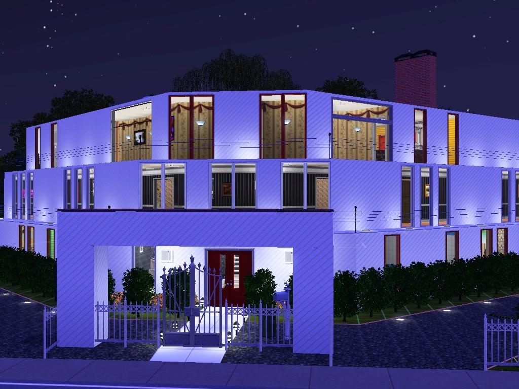 V shaped house my sims 3 houses for V shaped house