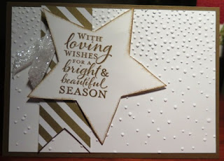 Stars framelits for Christmas zena kennedy independent stampin up demonstrator