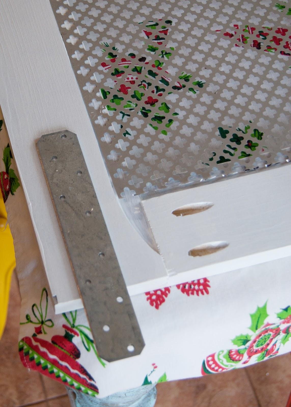 DIY Barn Door Window Cover for the Bathroom - attaching the barn door hardware