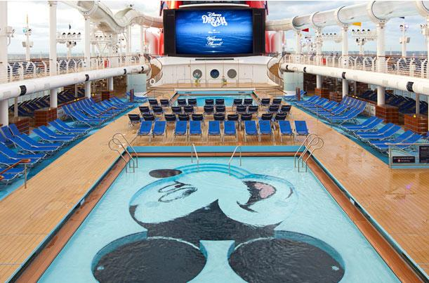 Cruzeiro Disney Dream Piscina Mickey