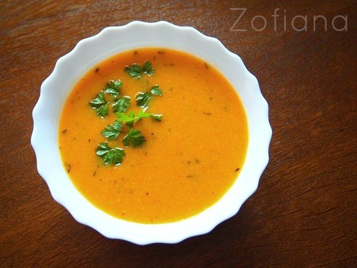 carrots peas potatoes soup