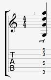 Gsus2 hendrix chord