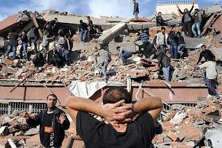 Terremoto en Turquía 7,3 grados