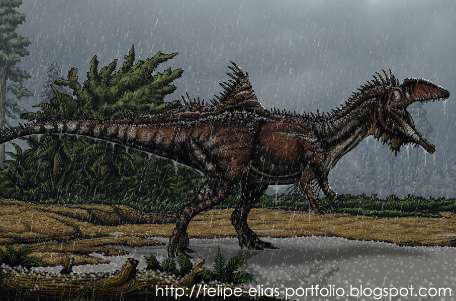 The Dinosaurs of Roland Tembo Concavenator