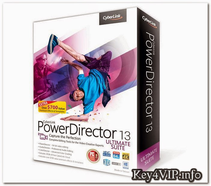 tải cyberlink powerdirector 13 full crack
