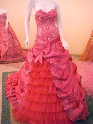 Model gaun cantik trend masa kini