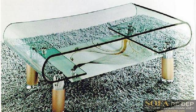 Bàn sofa kiếng 007HK