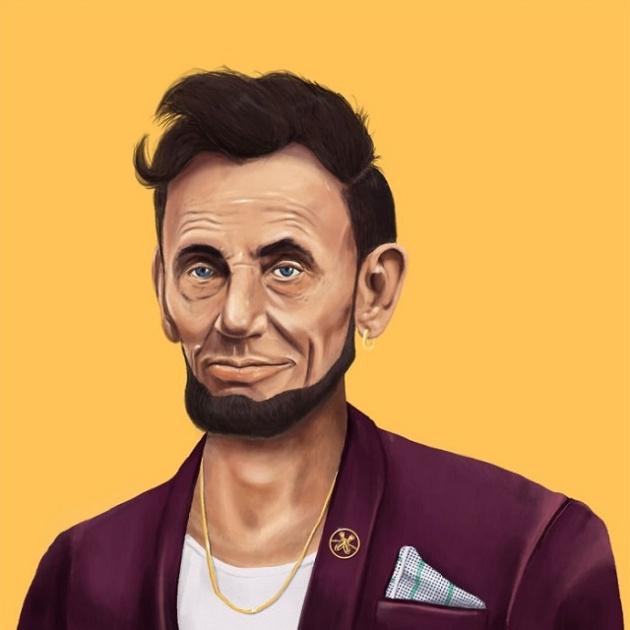 ABRAHAM LINCOLN - HIPSTER VIEJUNO