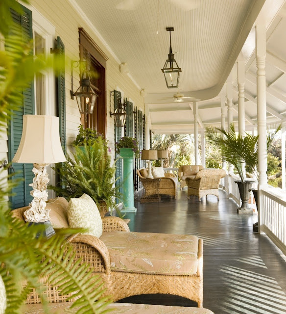 tropical porches
