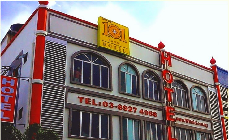101 Hotel Aras Bawah Adalah Lobi Dan Restoran Ruz Aladin Berdekatan Dengan Genius Aulad Norunnuha Sdn Bhd