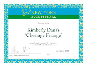Cheerage Fearage Awarded by New York Festival of Books