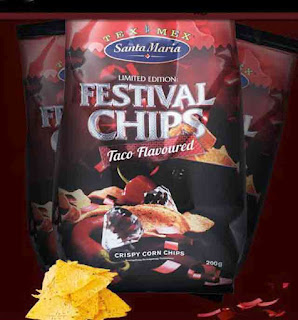 Santa Maria Limited Edition Festivalchips med smak av Taco