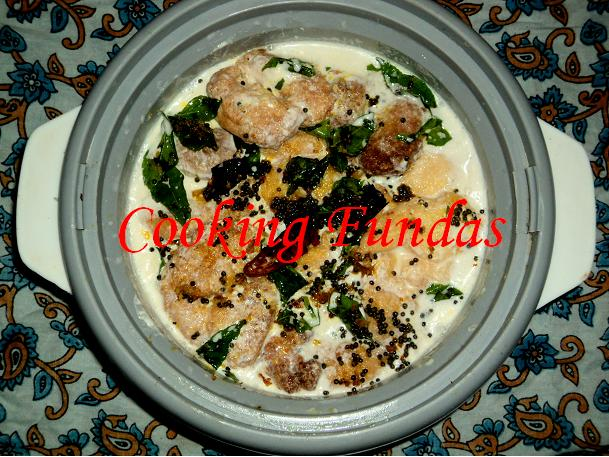 Cooking fundas dahi bara aloo dum and ghuguni chaat just before deep frying get the dahi mixture ready it is simple beat the curd with salt and black salt once it is a smooth paste thecheapjerseys Image collections