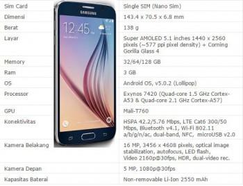 Smartphone Samsung Android Terbaik dan Tercanggih