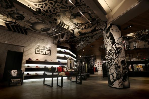 Converse, Flagship Store, San Francisco, green pear diaries