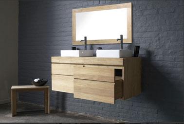 The ba os y muebles cuarto de ba o en gris negro y for Bano gris blanco y negro