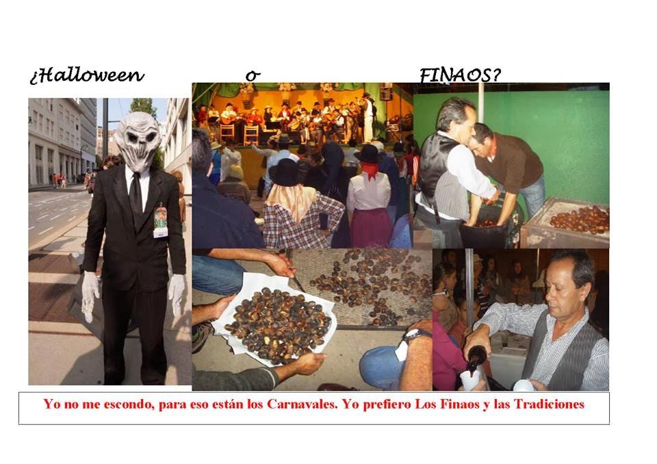 El próximo 31 de octubre celebra los Finaos. NO a Hallowen.