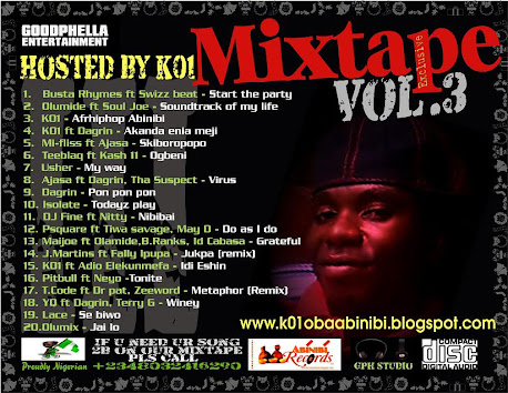 GOOPHELLA ENTERTAINMENT MIXTAPE EXCLUSIVE VOL. 3