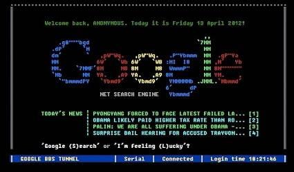 Google Terminal magic trick