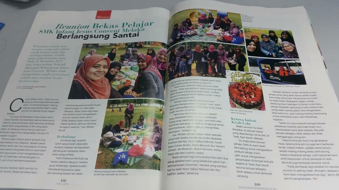 Featured In Mingguan Wanita