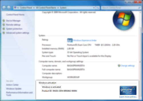 Serial number untuk aktivasi windows 7 ultimate