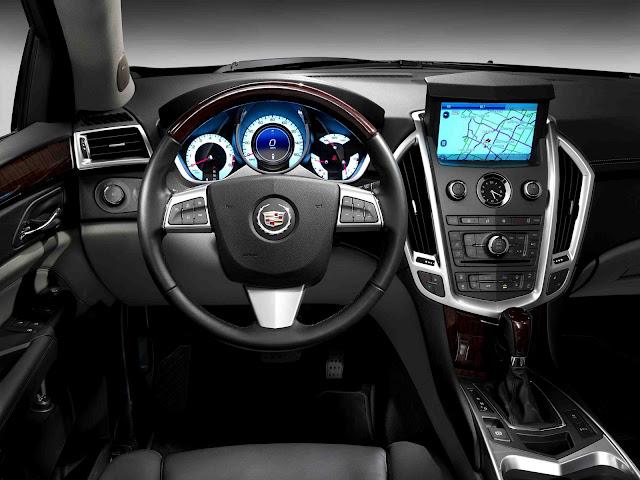 Interior shot of 2011 Cadillac SRX