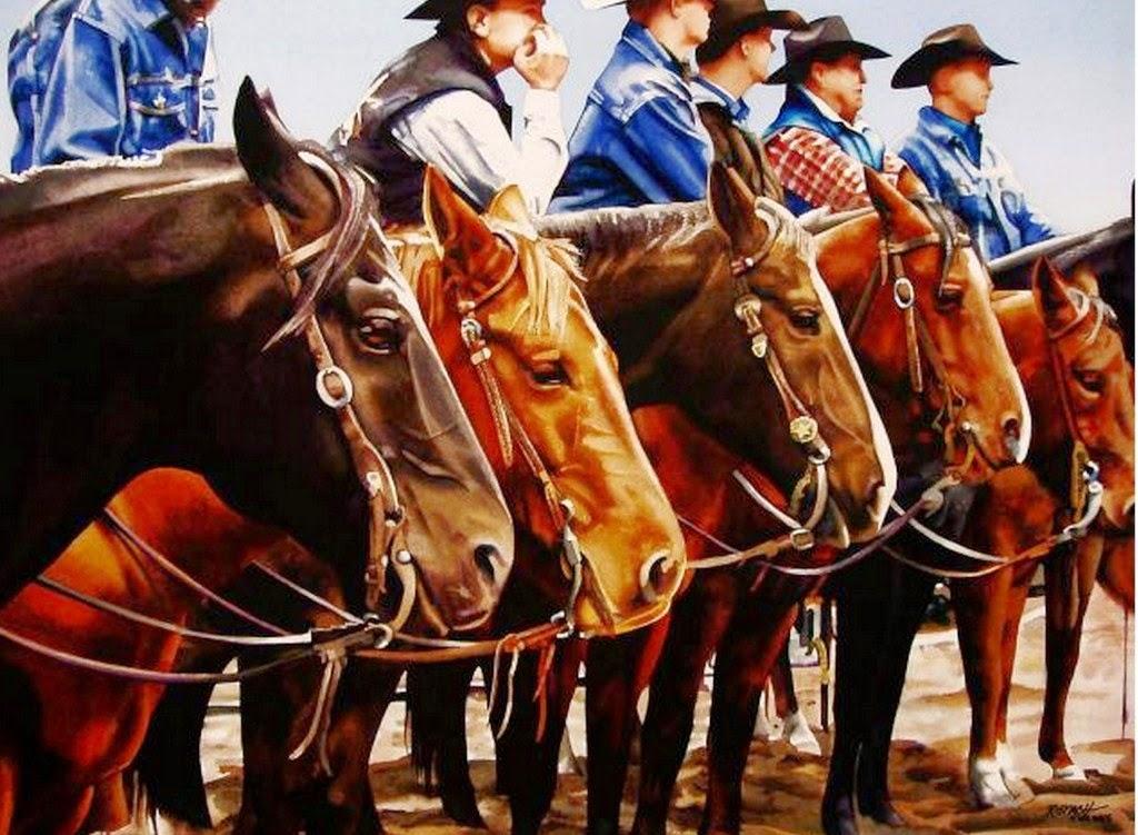 pinturas-en-acuarela-de-caballos