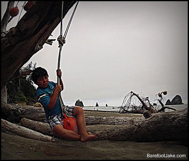 kid beach rope
